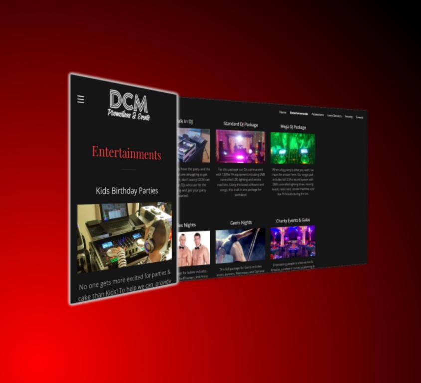 DCM Promotions & Events